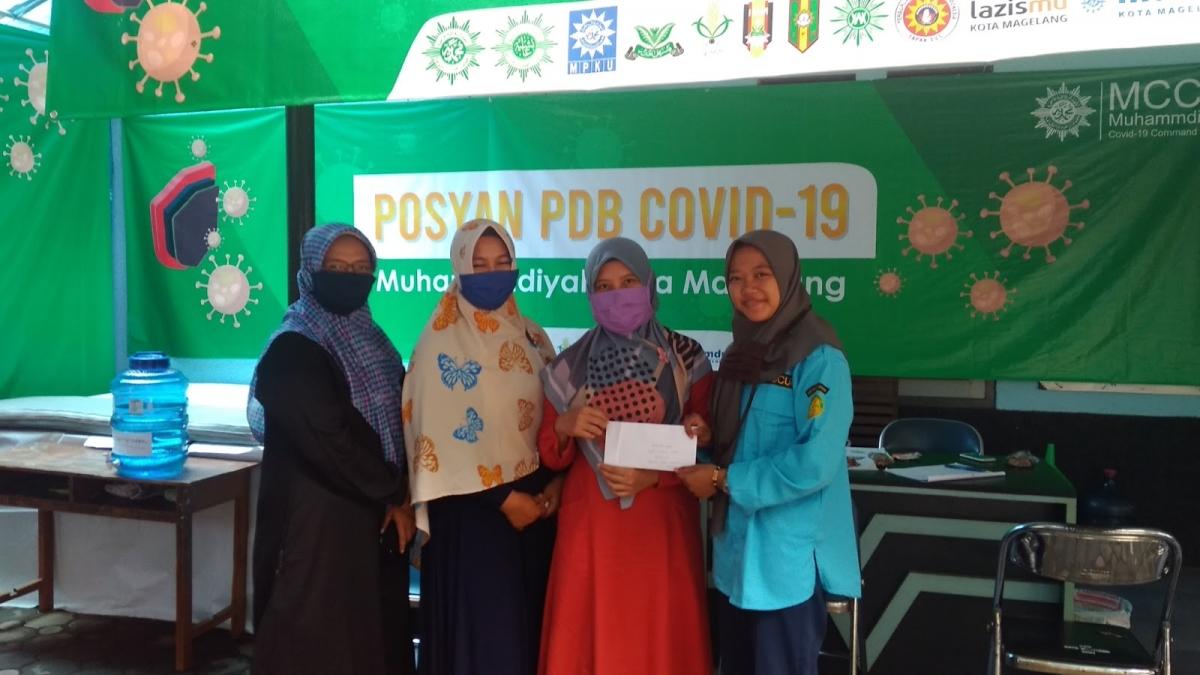 Komite dan Ikwam SMP Mutual Terus Bergerak Dalam Kebaikan Pada Pandemi Covid-19